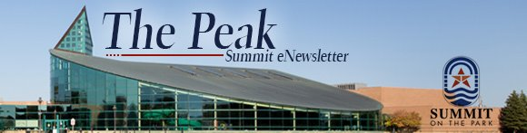 The Peak: Summit eNewsletter