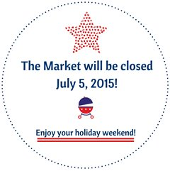 Market closed on July 5, 2015