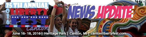 Canton Liberty Fest  | June 16-18, 2016 | Heritage Park
