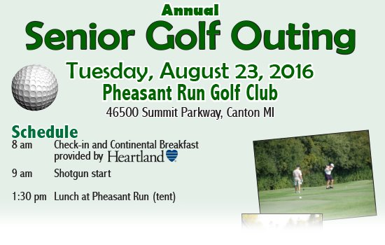 Canton Senior Golf Outing