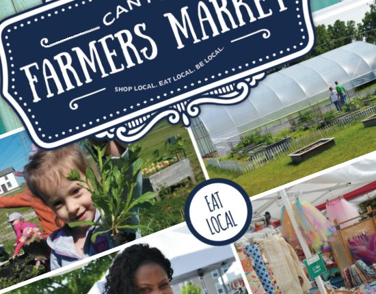 Canton Farmers Market. Eat Local