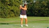 Golfer on the links