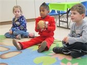 Preschool Holiday Build A Buddy PJ Party