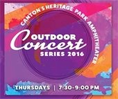 Outdoor Concert Series at Heritage Park Amphitheater. Thursdays | 7:30 - 9:00 PM