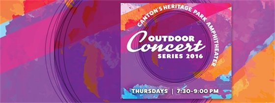 Outdoor Concert Series at Heritage Park Amphitheater. Thursdays