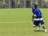 Youth Lacrosse Player