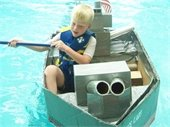 Cardboard Boat Races at the Summit on the Par