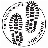 Together Towards Tomorrow Youth Peace Walk Logo