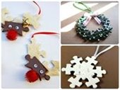 Let's Get Creative holiday ornaments