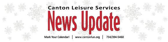 Canton Leisure Services News Update Header