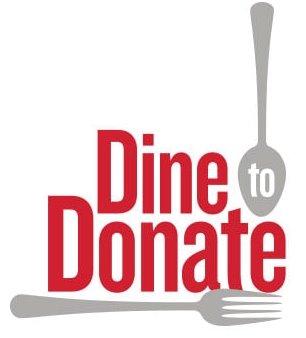 Dine to Donate logo