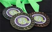 Senior Games medals.