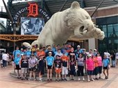 Leisure Club at a Detroit Tigers game.