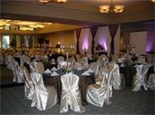 Summit Banquet Facility photo of beautiful wedding table set up