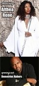 Entertainers Althea Rene and Demetrius Nabors image