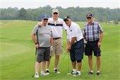 Golf Tournament participants photo