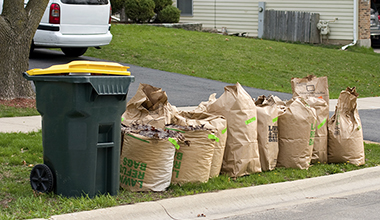 Yard Waste pick-up