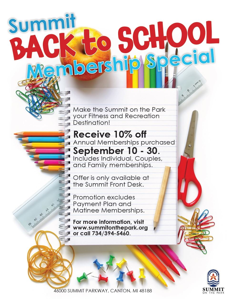 Back To School Special Flyer 2016