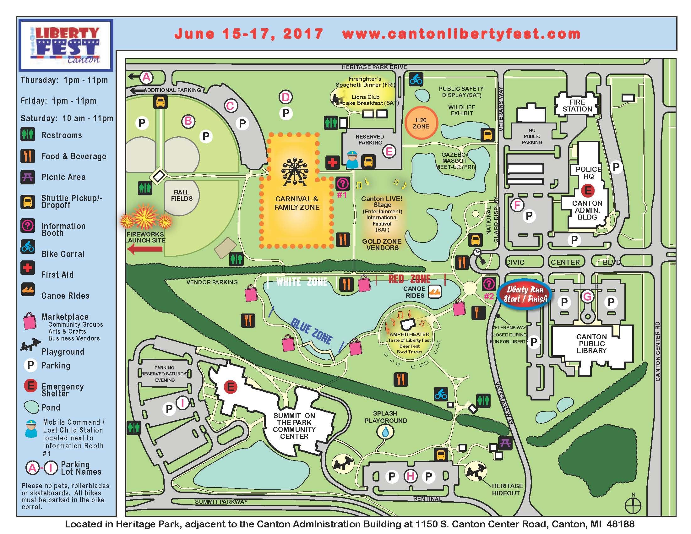 2017 Liberty Fest Grounds Map Web