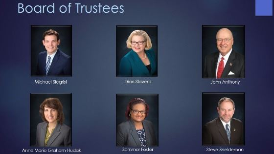 Board of Trustees photos