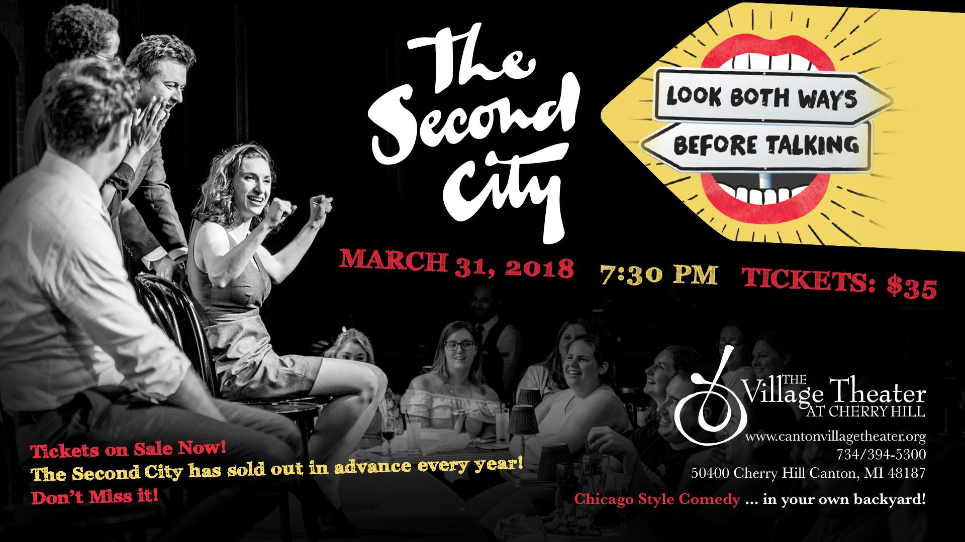 The Second City Returns to Canton&#39s Village Theater