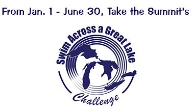 Swim Across The Great Lakes Challenge Logo
