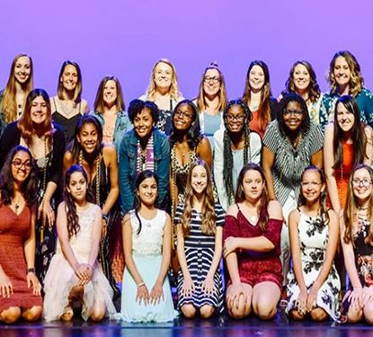 Lead LikeAGirl Graduation Ceremony photo of 2018 2019 school year participants